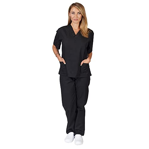 a884ebb12f4 Natural Uniforms Unisex Scrub Set (Assorted Colors, XXS-5X)