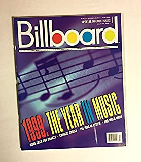 1999: THE YEAR IN MUSIC & THE 1990'S IN REVIEW BILLBOARD SPECIAL DOUBLE ISSUE [December 25, 1999]