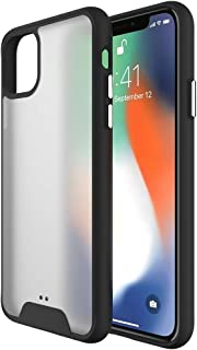 For iPhone 11 Pro Max Shockproof TPU + Plastic Frosted Protective Case New Hengk