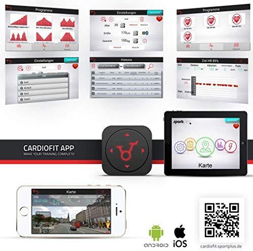 SportPlus Heimtrainer mit APP Heim Fitnesstraining Bild 5*