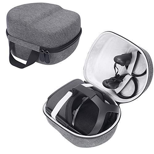 HIJIAO Reisetasche für Oculus Quest All-in-one VR Gaming Headset und Controller Zubehör, wasserdicht, stoßfest, grau