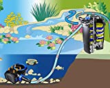 GRECH CPF5000 Filtro de estanque de peces Koi a presión y esterilizador UV para...