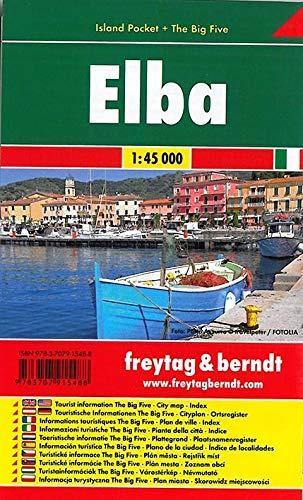 Elba, Island Pocket, Autokarte 1:45.000: Toeristische Wegenkaart 1:45 000 (freytag & berndt Auto + Freizeitkarten)