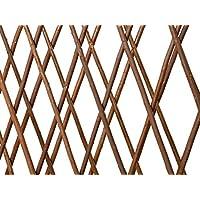 Catral 43040014 Muro Extensible Mimbre Doble Cara, 300x15x100 cm