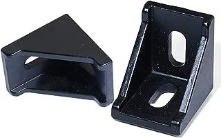 KOOTANS 10pcs 4040 Corner Fitting Angle 40x40 Decorative Brackets Aluminum Profile Accessories L Connector Fasten Connector