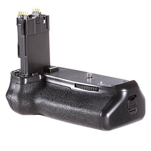 Neewer Batteriegriffhalter (Ersatz für BG-E14) Arbeiten mit LP-E6 Batterie oder 6 teiligen AA-Batterien für Canon EOS 70D 80D 90D DSLR Kamera