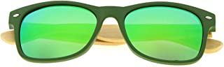 Eyekepper Quality Spring Hinges Bamboo Wood Arms Classic Womens Polarized Sunglasses