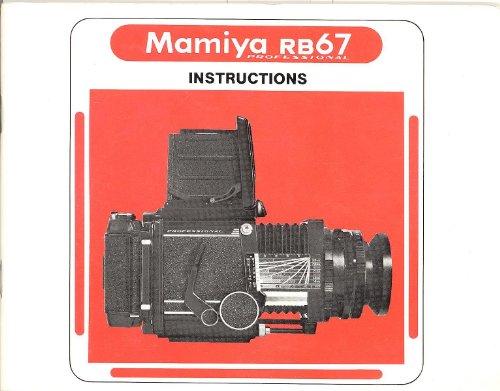 Mamiya RB67 Professional Original Instruction Manual
