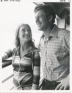 JANE SEYMOUR/FRANK CONVERSE/KILLER ON BOARD/7X9 ORIGINAL PHOTO AA9218