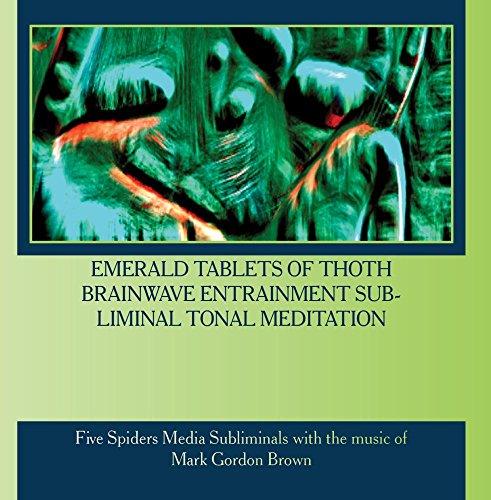 Price comparison product image Emerald Tablets of Thoth Brainwave Entrainment Subliminal Tonal Meditation