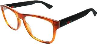 4798be1358aa8 Gucci frame (GG-0173-O 002) Acetate Transparent Brown - Matt Black