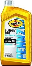 Pennzoil Platinum Euro Full Synthetic 5W-40 Motor Oil, 1 Quart