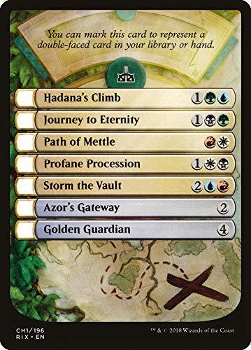 Magic: The Gathering - Rivals of Ixalan Checklist Card
