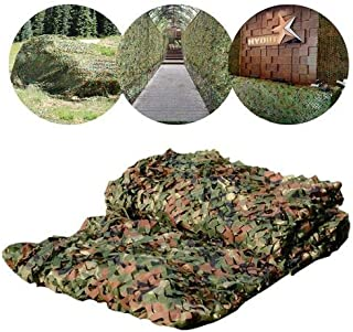HYOUT Army Camo Netting,Camo Net Shade Blinds for Sunshade Camping Shooting Hunting Fishing Party Decoration