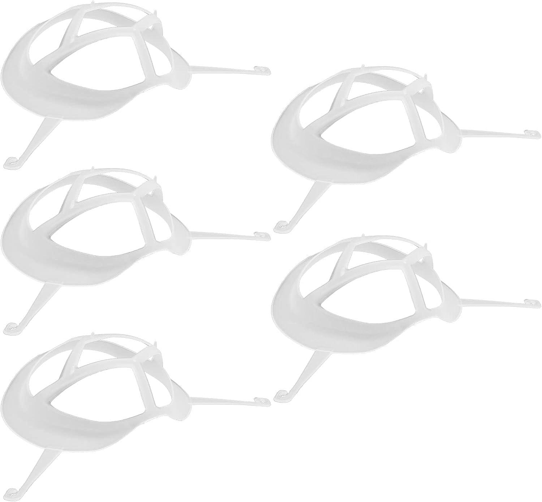 WNSC Marco de Soporte Facial, Limpiador reutilizado Agradable para la Piel y cómodo Soporte Interno para el Rostro de Larga duración para Proteger la Boca