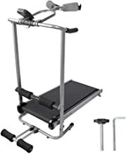 Fitness loopband-Mini opvouwbare handmatige loopband Werkend Indoor Fitness Oefeningsaccessoire HB8053