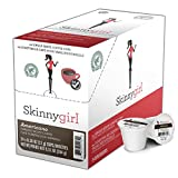 Skinnygirl Coffee Pods, Americano, Espresso Roast Coffee in Single Serve Pods for Keurig K Cups Brewers, 24 Count