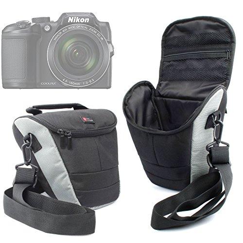DURAGADGET–Zaino e custodia per macchina fotografica Panasonic Lumix GF8 et DMC-FZ300, Nikon Coolpix B500 et B700 Bridge e Pentax K-1 SLR