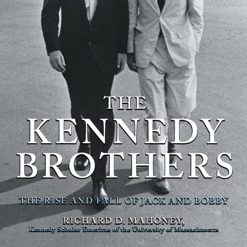 The Kennedy Brothers audiobook cover art