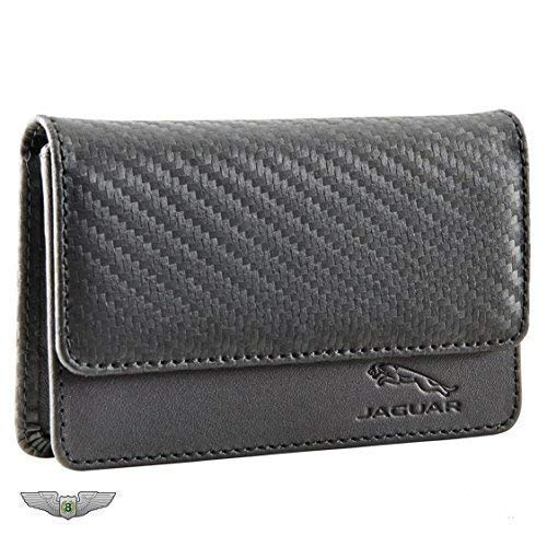 Jaguar Collection Merchandise New echtes Leder Visitenkartenhalter 50jslgtrxbcb