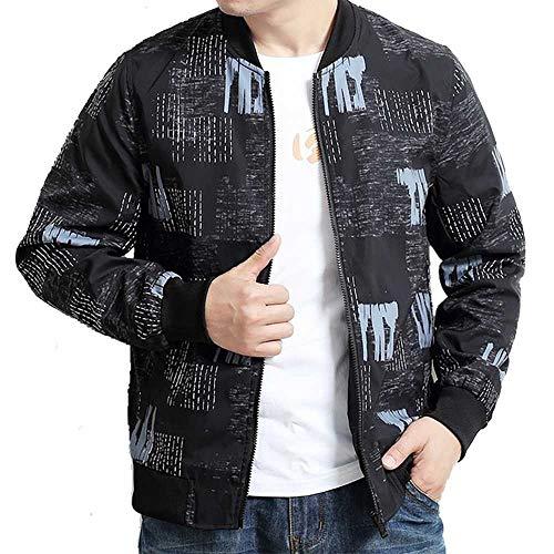 Hochwertige Plus Size 8XL 7XL 6XL Herren SpringAutumn WindbreakerBomberjackeNeuer Mantel Casual Outwear Herren Jacken und Mäntel