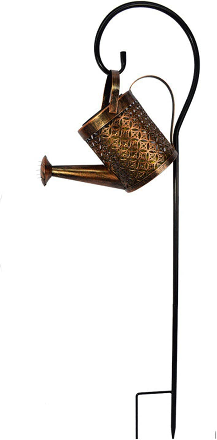 Many popular brands Max 59% OFF KOPOU Solar Starry Watering Can Plug Iron LED in String Shower