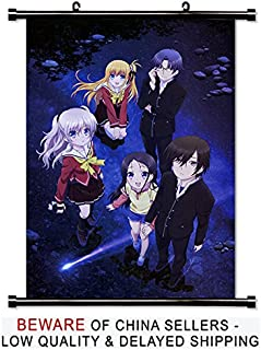 Charlotte Anime Fabric Wall Scroll Poster (32x46) Inches