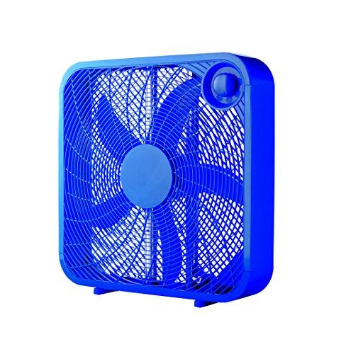 """Mainstays 20"""" Box Fan, Blue"""