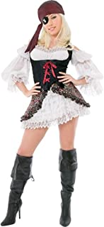 Playboy Sexy Buccaneer Pirate Costume (Size: X-Small 2-4)