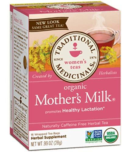 Traditional Medicinals Mother's Milk Women's Tea Organic, 16 Ct