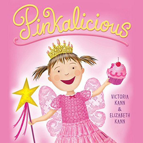 Pinkalicious audiobook cover art