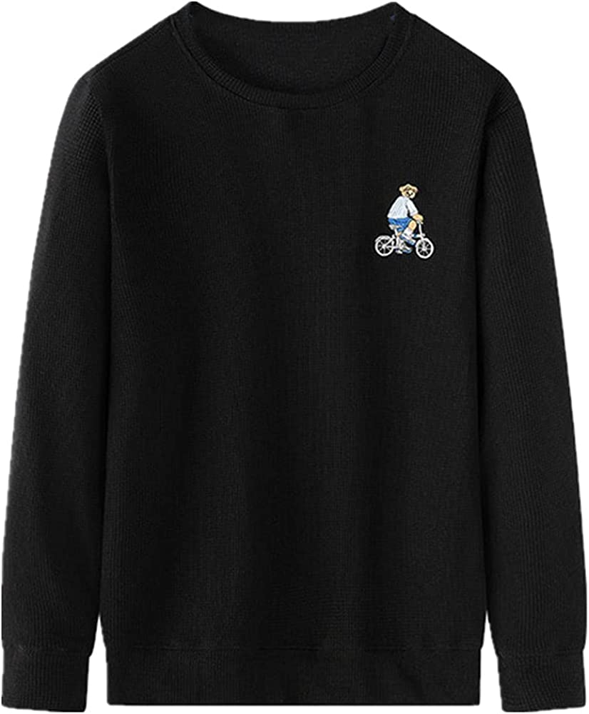 NP Neck Sweater Spring Autumn Men;s Casual Embroidered Sweater Youth Sports