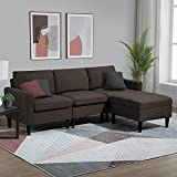 CHADIOR Convertible Sectional Sofa with Reversible Chaise 77'...