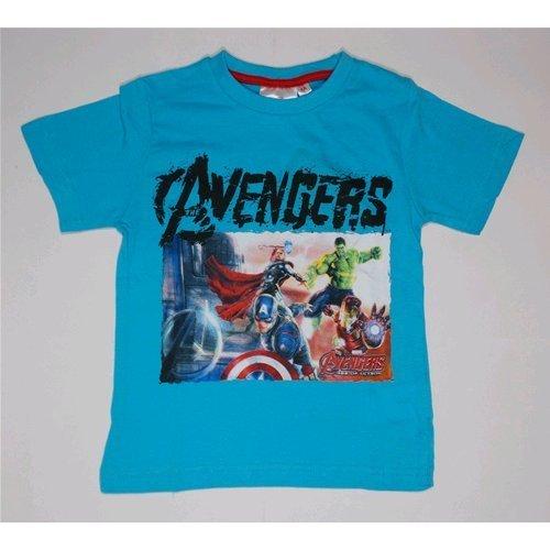 Avengers T-Shirt T-Shirt d'été Enfant Marvel 3/8 ans – oe1730/1 9-10 years bleu ciel