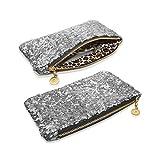 JJOnlineStore - Bolso Bolsas de Mano Elegante Brillante Brillo de Glitter Estilo de Celebridad lentejuelas de Cristal Fiesta Boda Tarde para Señoras Señoritas