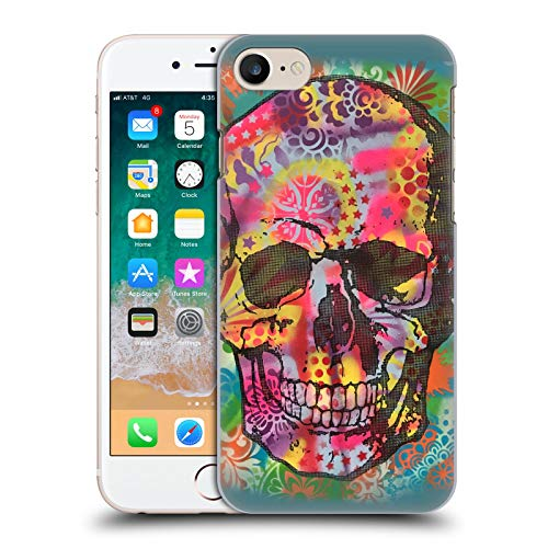 Head Case Designs Oficial Dean Russo Calavera 1UP Cultura Pop 2 Carcasa rígida Compatible con Apple iPhone 7 / iPhone 8 / iPhone SE 2020