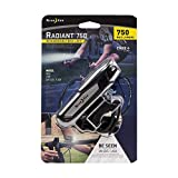 Nite Ize Radiant 750 Rechargeable Bike Light, 750 Lumen Bike Light with Cree LED's and USB Cord for Recharging