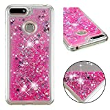 Huawei Honor4C/G Play Mini Case, Glitter Flowing Floating