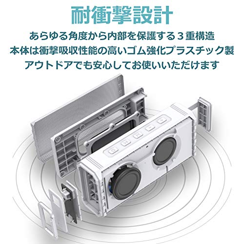 40s(フォーティーズ)『完全防水対応Bluetoothスピーカー(HW1)』