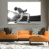 HNTHBZ Mode Leinwand-Malerei Freddie Mercury Kunst Poster