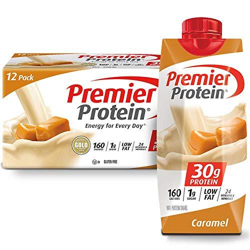 Caramel flavor Premier Protein High Protein Shake