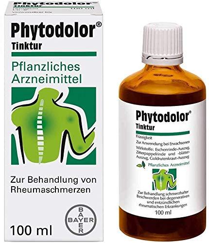 Phytodolor pflanzliche Tinktur zur Linderung schmerzhafter Muskel- und Gelenkbeschwerden bei rheumatischen Erkrankungen, 100 ml