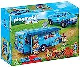 Playmobil - 9502 - Fun Park Pick up et Caravane