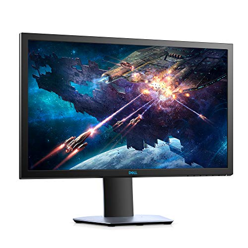 Dell 24 inch (60.96cm) Full HD Gaming Monitor with HDMI and DP Ports, TN Panel, 144Hz, 1ms, AMD Free Sync, Tilt, Swivel, Height-Adjustable - S2419HGF (Black)