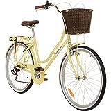 Galano 26 Zoll Cityrad Belgravia 6 Gang Damenfahrrad Mädchenrad Citybike