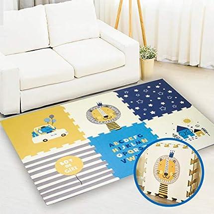 Alfombrilla de juegos para bebé, para niños pequeños y bebés (167x114x2cm)
