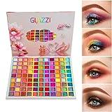 Paleta de sombras de ojos de 99 colores, paleta de maquillaje de fusión con brillo mate, sombra de ojos pigmentada profesional, resistente al agua, de larga duración, colorida, en polvo para sombras