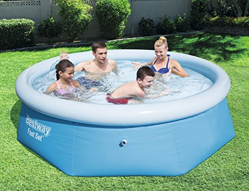 Bestway - 57265 - Piscine Ronde autopartante 2,44x0,66 m Fast Set