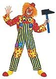 Fiori Paolo 23058 - Clown Costume Bambino, 5-7 Anni, Multicolore