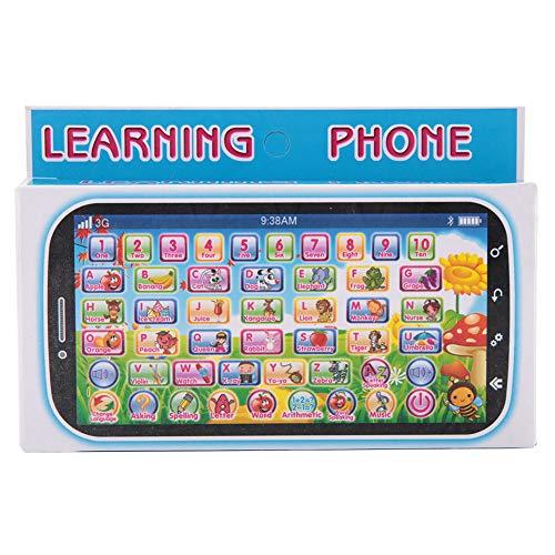 Fydun Juguetes para bebés Teléfono Aprender Juego Juguete Teléfono Celular Juego de Roles Teléfono para bebés Niños Que aprenden Teléfono móvil para Aprendizaje temprano Regalos educativos